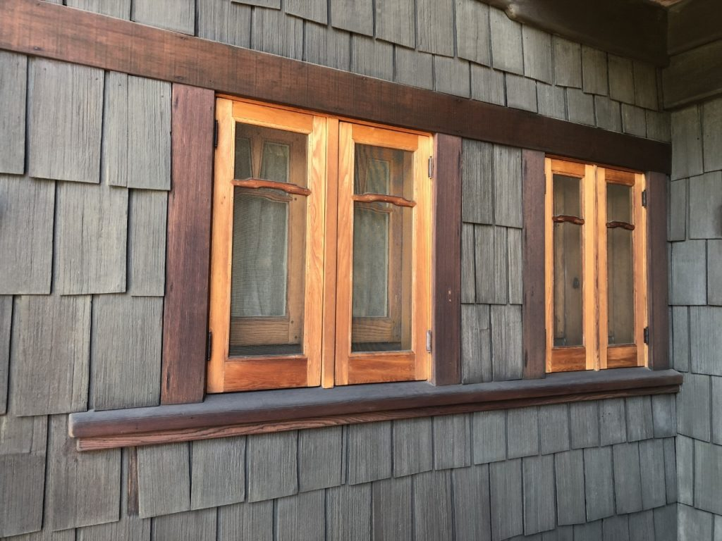 The Gamble House window detail